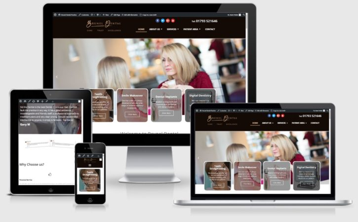 brunel dental practice website
